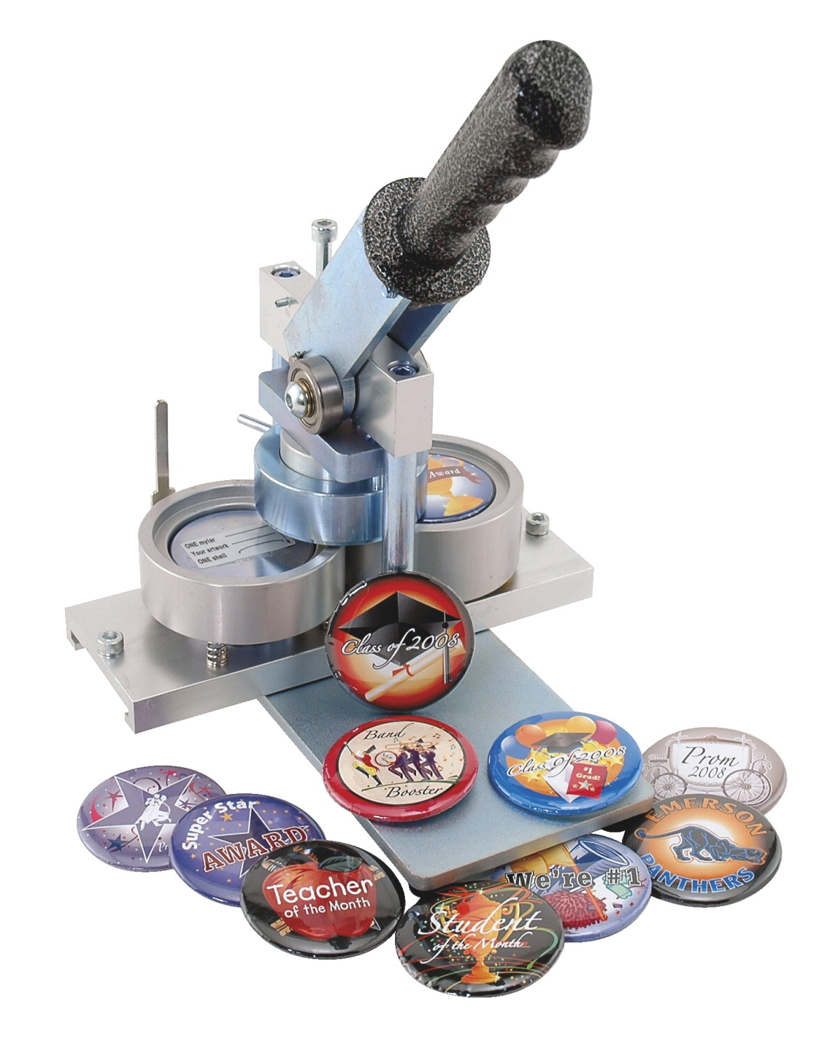 button and badge making machine school specialty marketplace. Black Bedroom Furniture Sets. Home Design Ideas