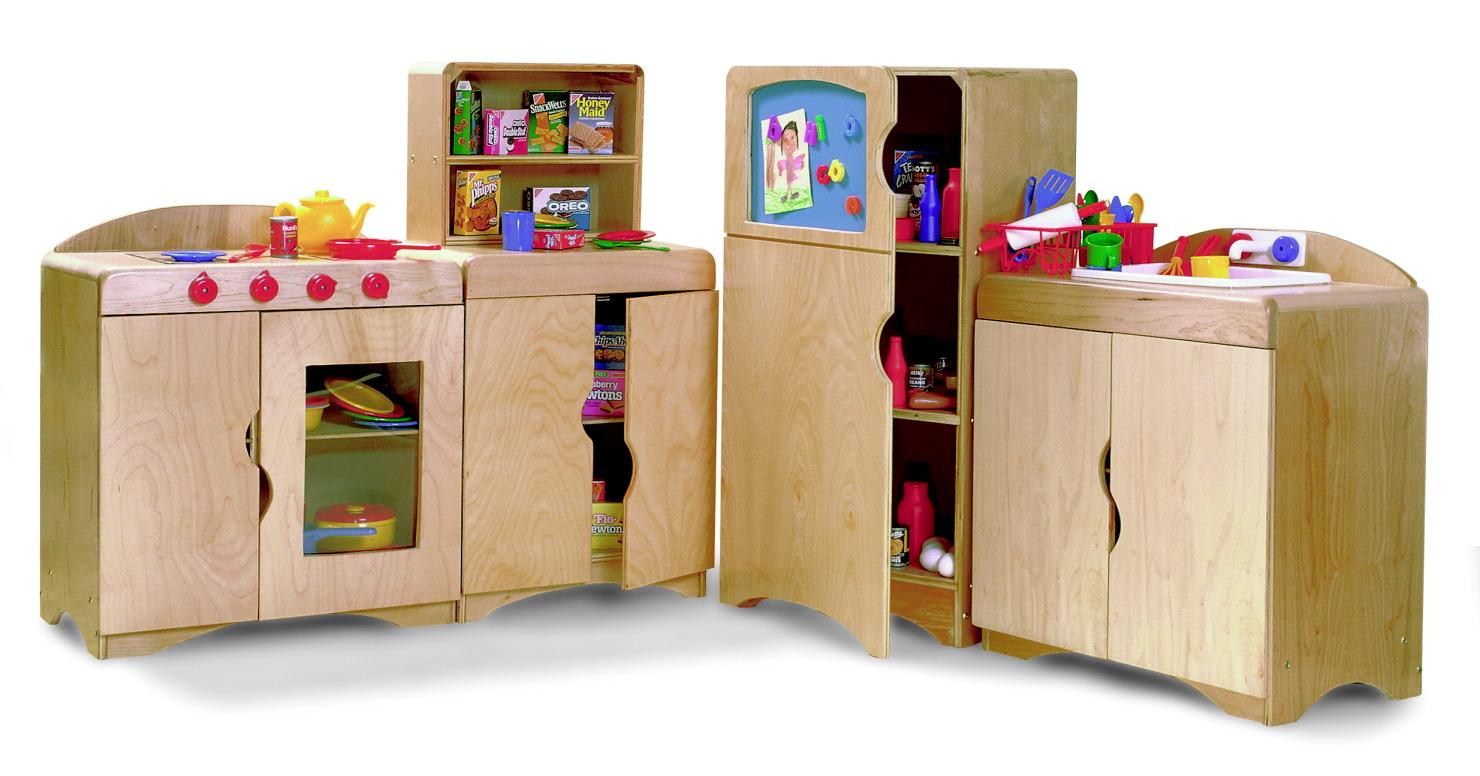 Childcraft Korners For Kids Deluxe Kitchen Set Of 4 School Specialty Canada