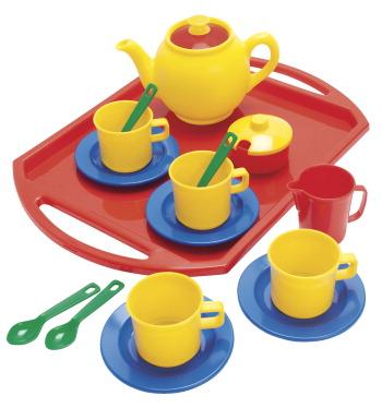 Dantoy Tea Set 18 Pieces School Specialty Marketplace