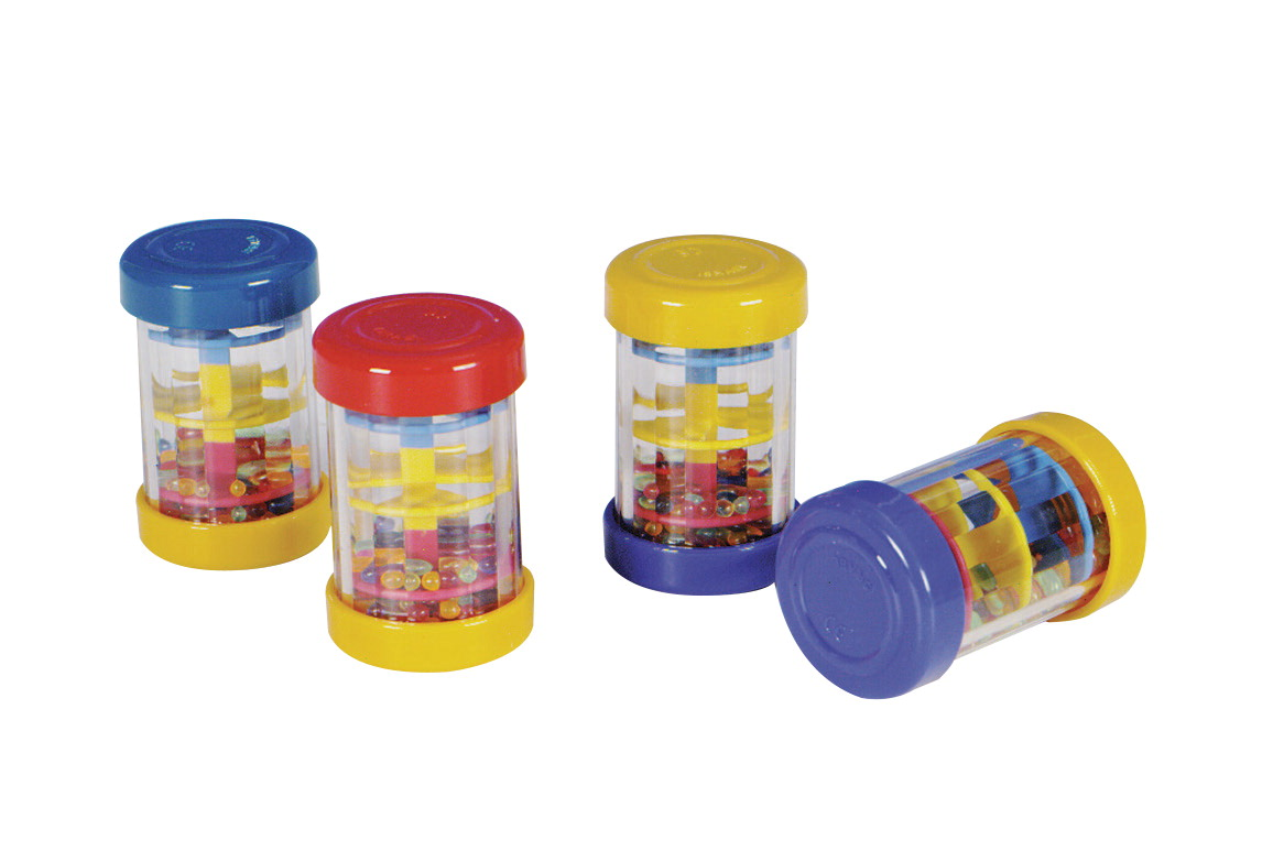 Edushape Mini Rainbow Bead Shaker Set