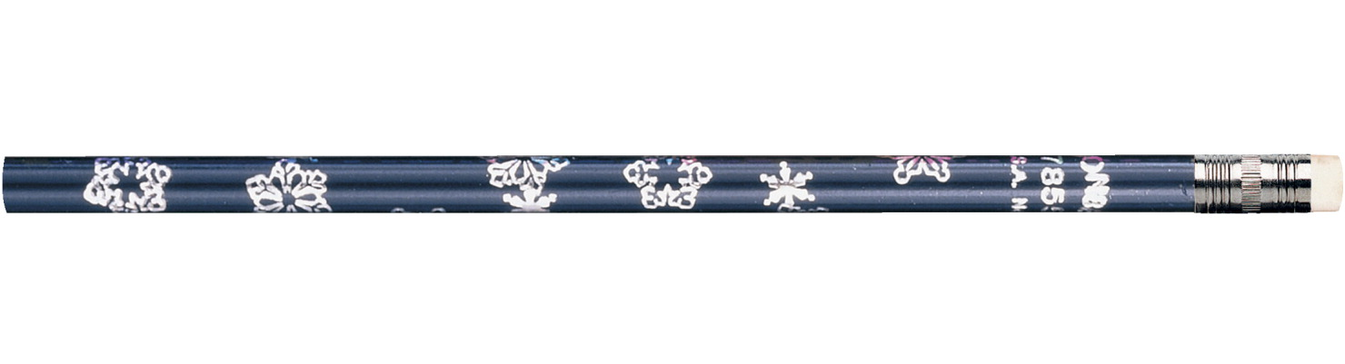 Moon Products Snowflake Seasonal Pencils, Pack of 12