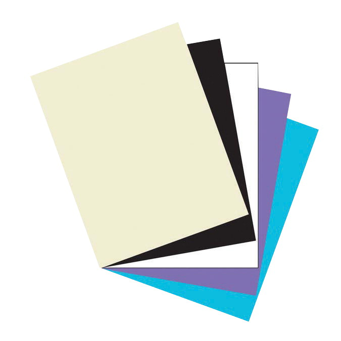 Array Card Stock Paper, 8-1/2 x 11 Inches, Classic Colors, Pack of 100