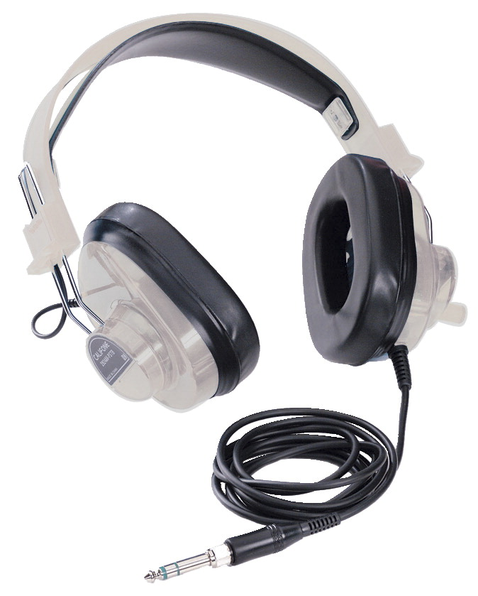 Califone 2924AVPS Stereo Headphones, Beige