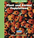 Delta Science Module Plant and Animal Populations Teacher Guide