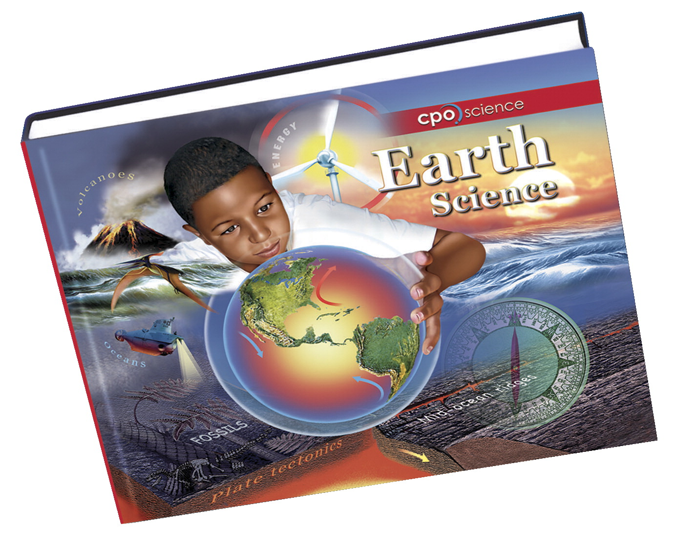 CPO Science Middle School Earth Science Hardcover Student Text Book, 504 Pages