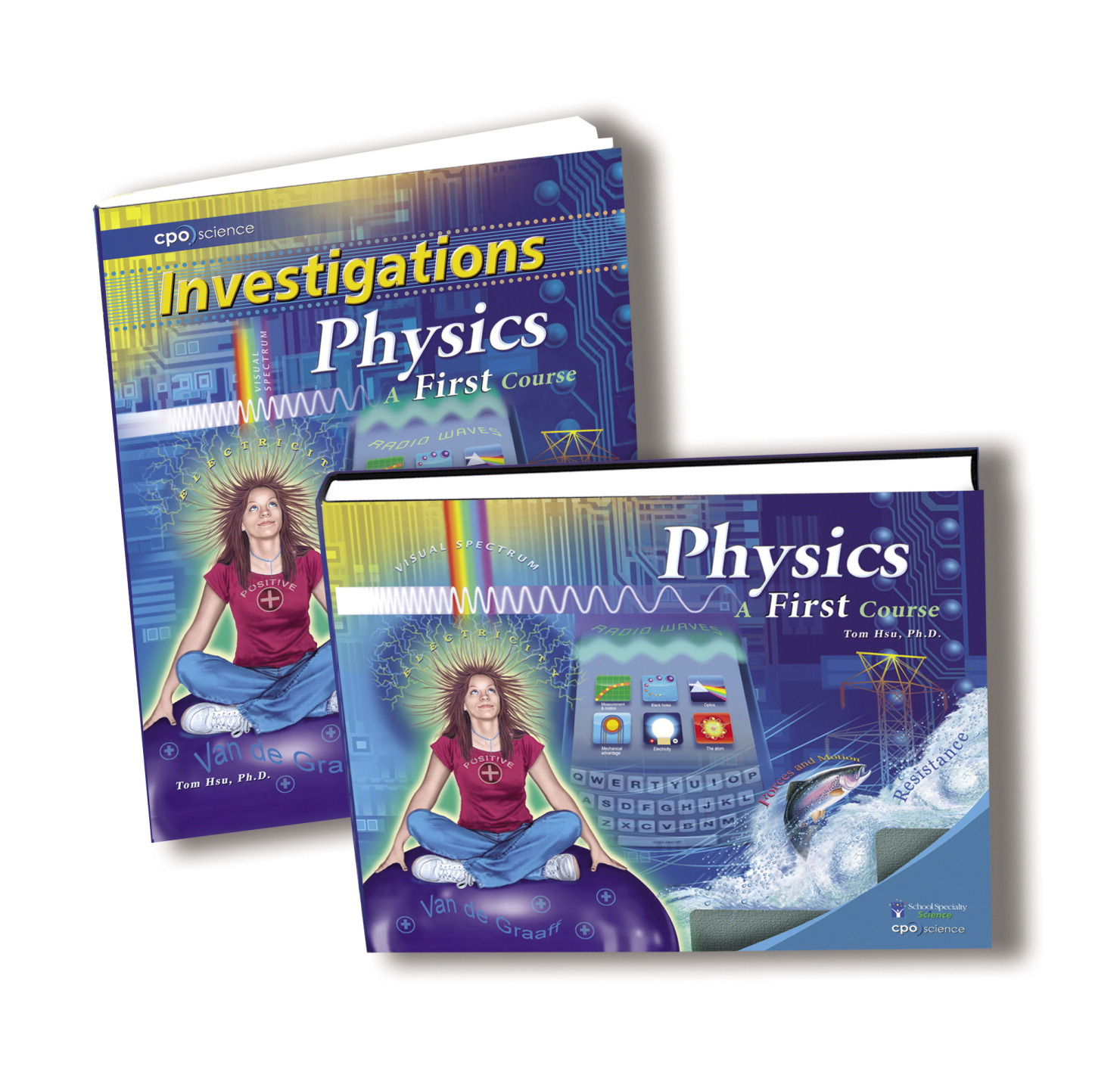 CPO Science Physics a First Course 2nd Edition Student Book Set, Set of 2