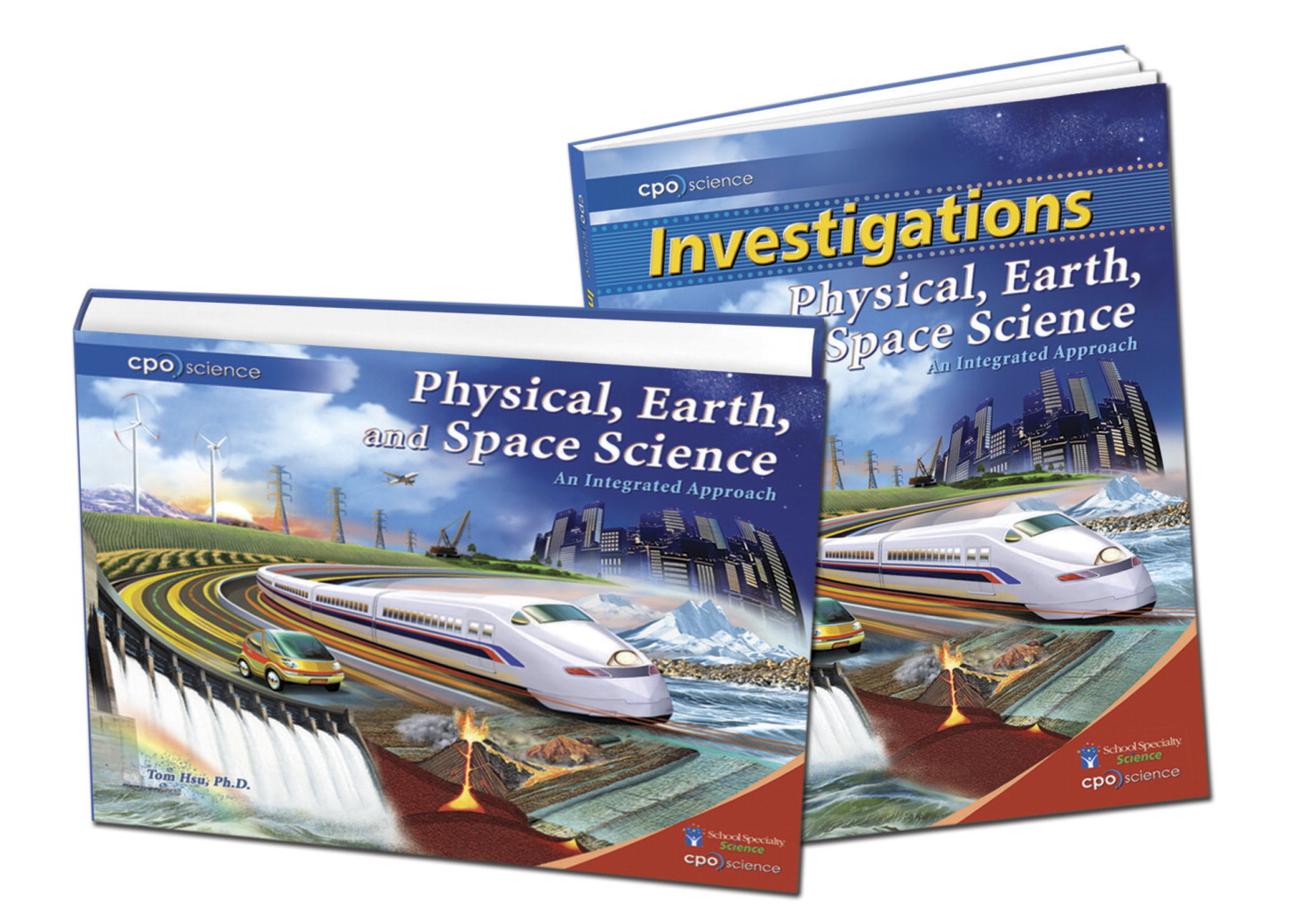 CPO Science Physical, Earth, and Space Science Student Book Set, Set of 2
