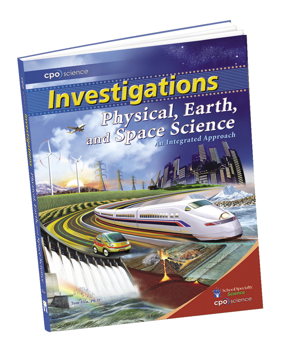 CPO Science Physical, Earth, and Space Science Softcover Investigation Manual, 296 Pages