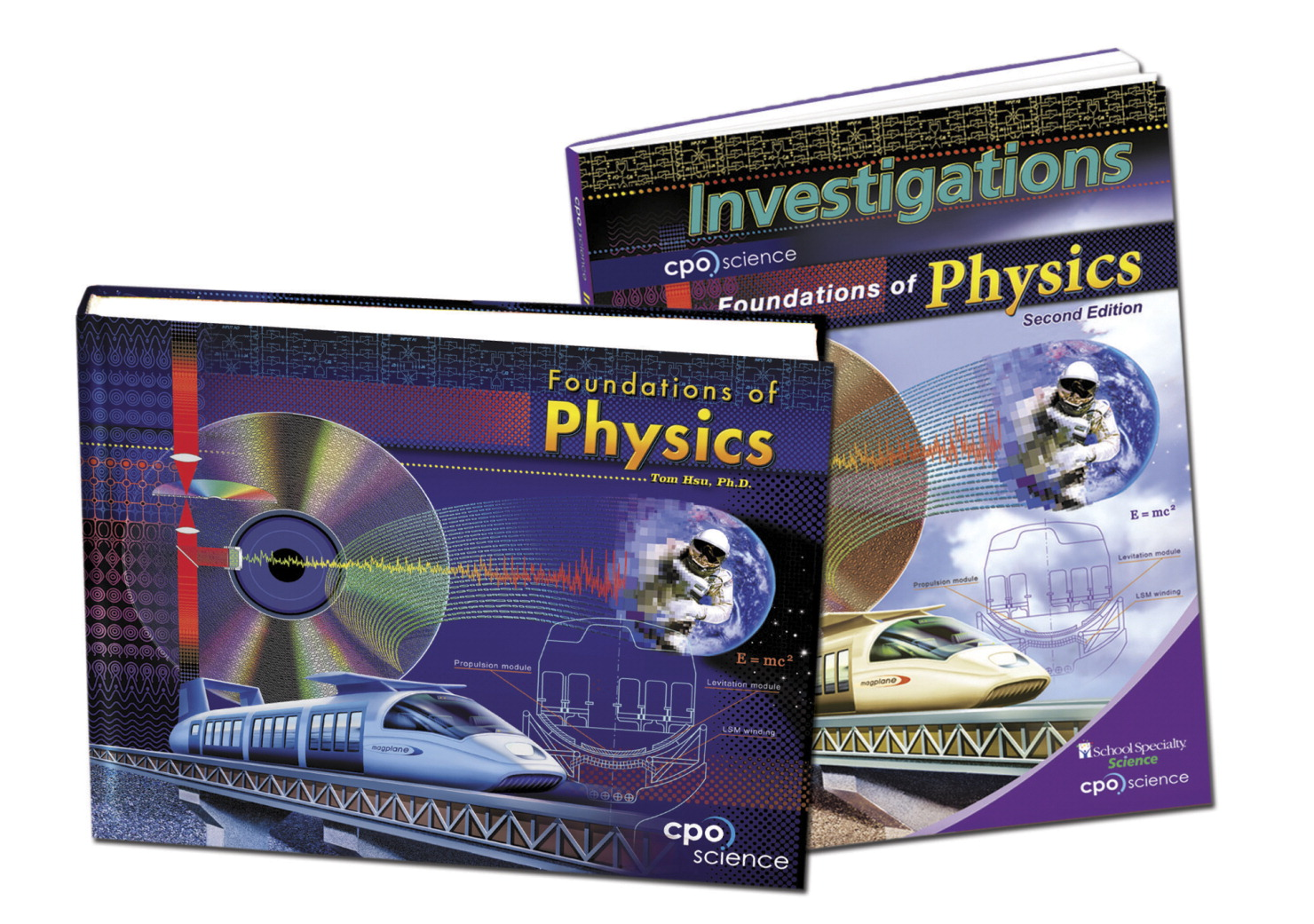 CPO Science Foundations of Physics 2nd Edition Student Book Set, Set of 2