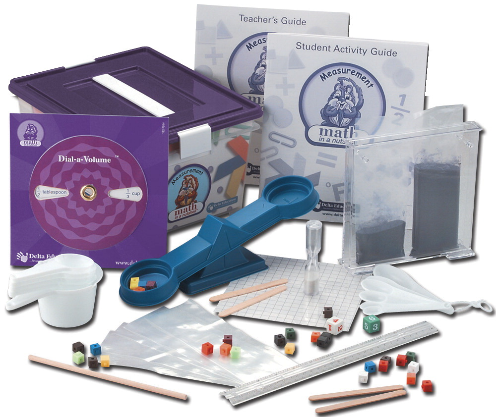 Delta Math in a Nutshell Measurement Single Kit, Grades 2-3
