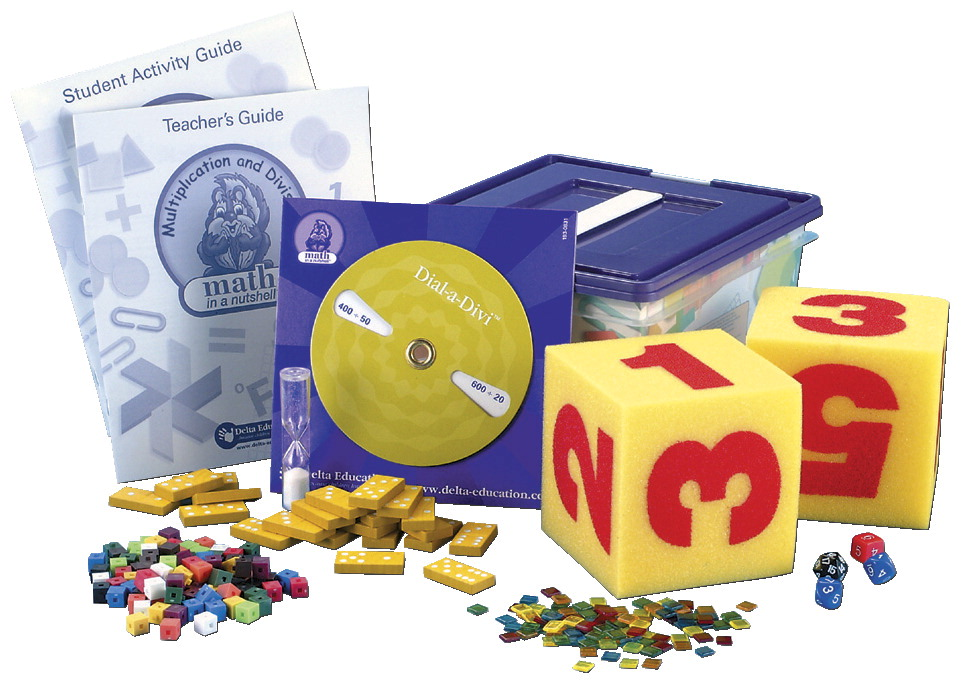 Delta Math In A Nutshell Multiplication and Division Single Kit, Grades 3 to 4