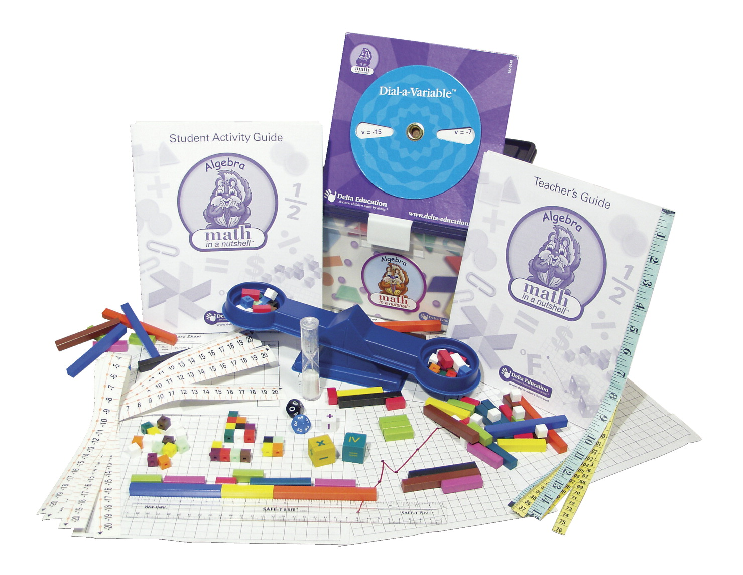 Math In A Nutshell - Algebra - Single Kit - Grades 5-6
