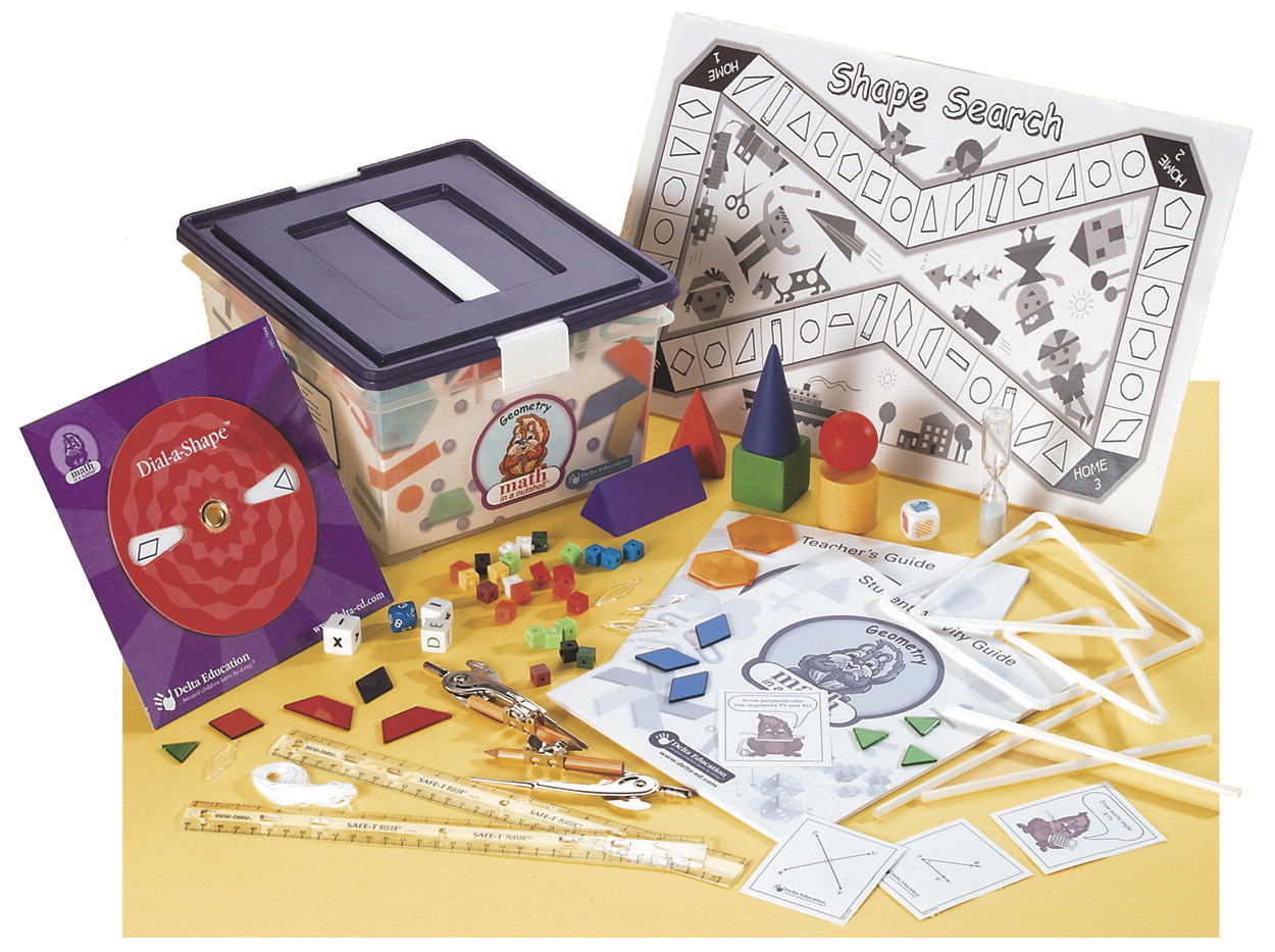 Delta Math in a Nutshell Geometry Single Kit, Grades 3-4