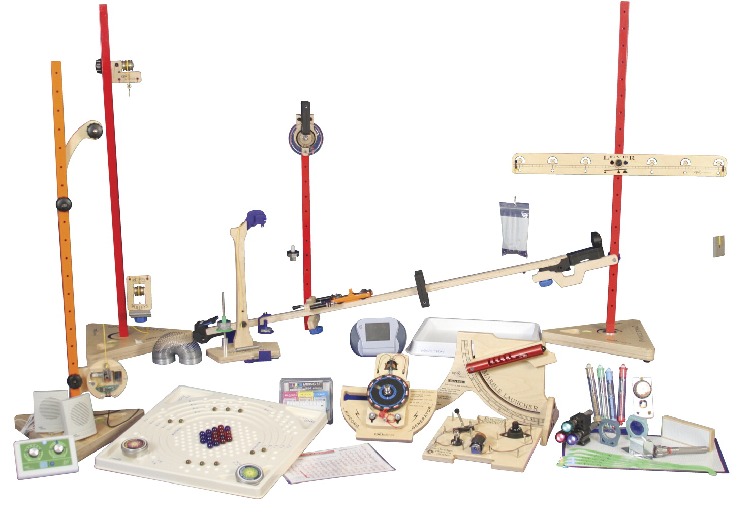CPO Science Physics a First Course, 2nd Edition - Equipment Kit
