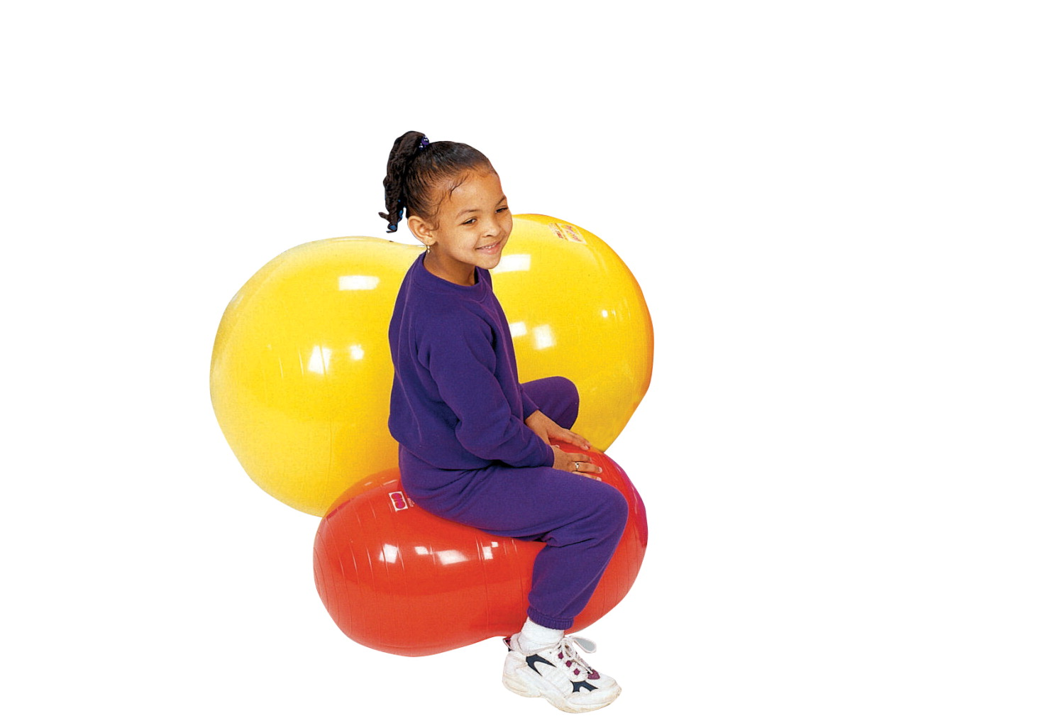 Gymnic 15-3/4 in Physio-Roll Ball, Red