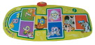 School Specialty Animal Hopscotch Coordination Mat, 71 X 33 in, Rectangle, Vinyl Coated