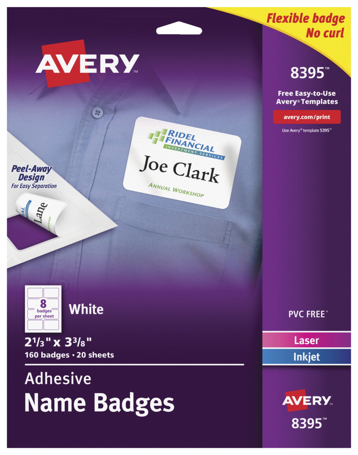 name badge label soar life products