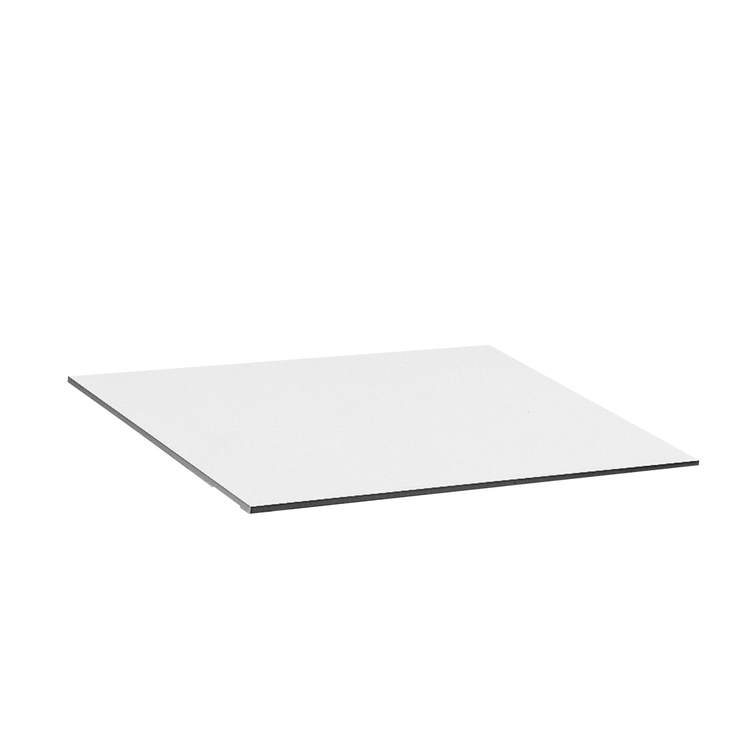 Safco Tabletop, 60 X 37-1/2 in, Melamine, White, for Use with Drafting Table