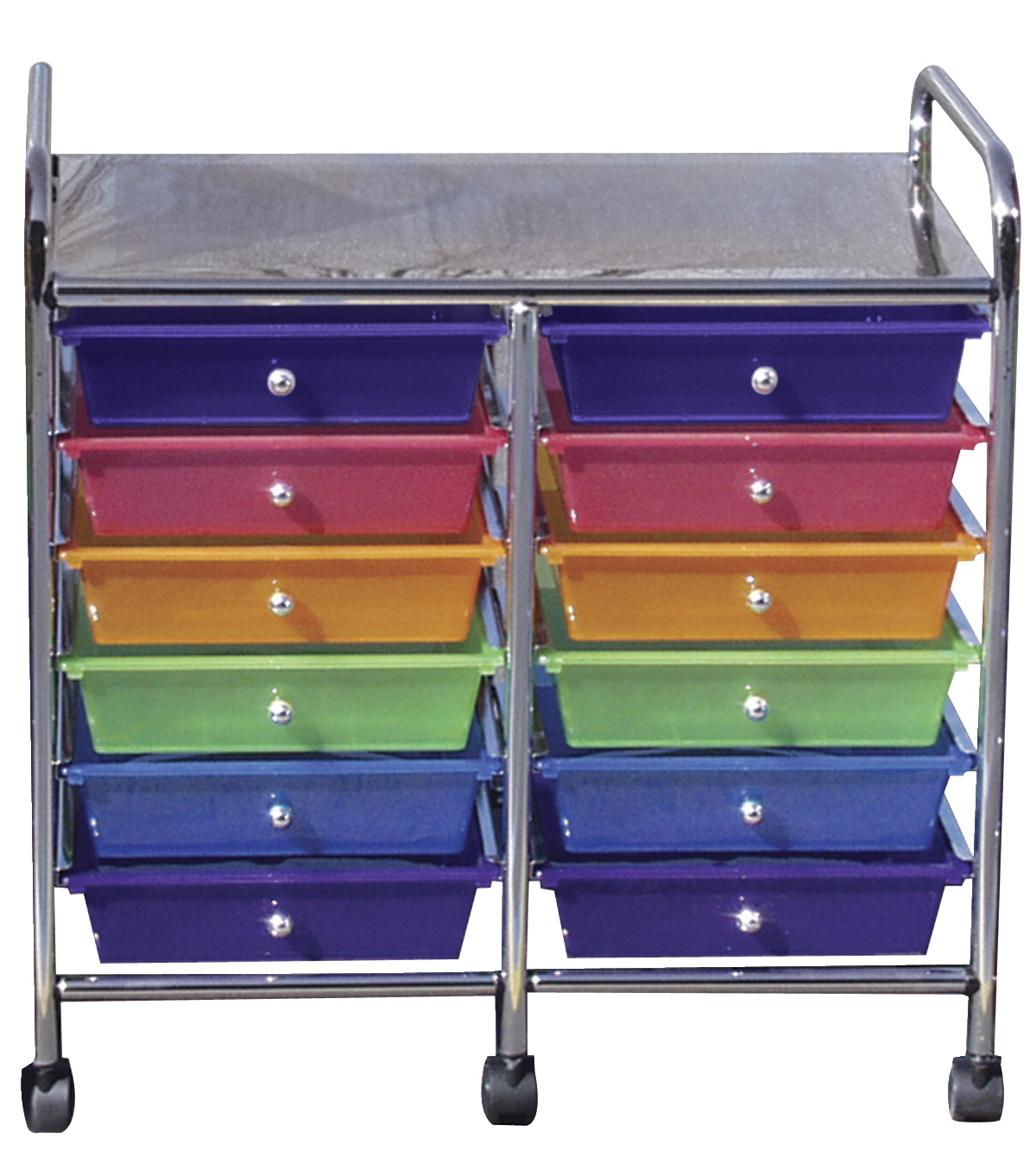 Mobile Organizer 12 Drawers 25 X 26 15 1 4 Inches