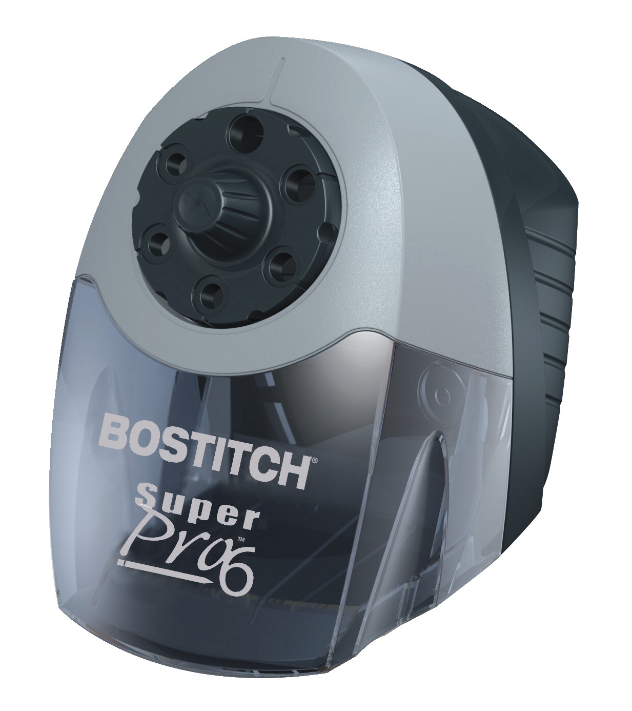 Bostitch SuperPro 6 Commercial Electric Steel Pencil Sharpener, 10-5/8 x 6-1/8 x 9 Inches, Gray