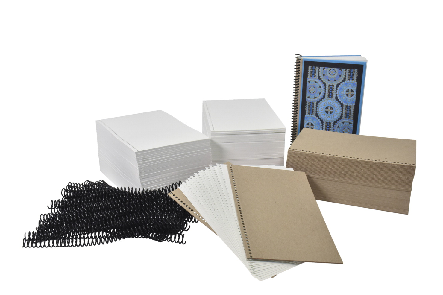 Sax Spiralbound Sketchbook and Journal Making Kit, 1090 Pieces