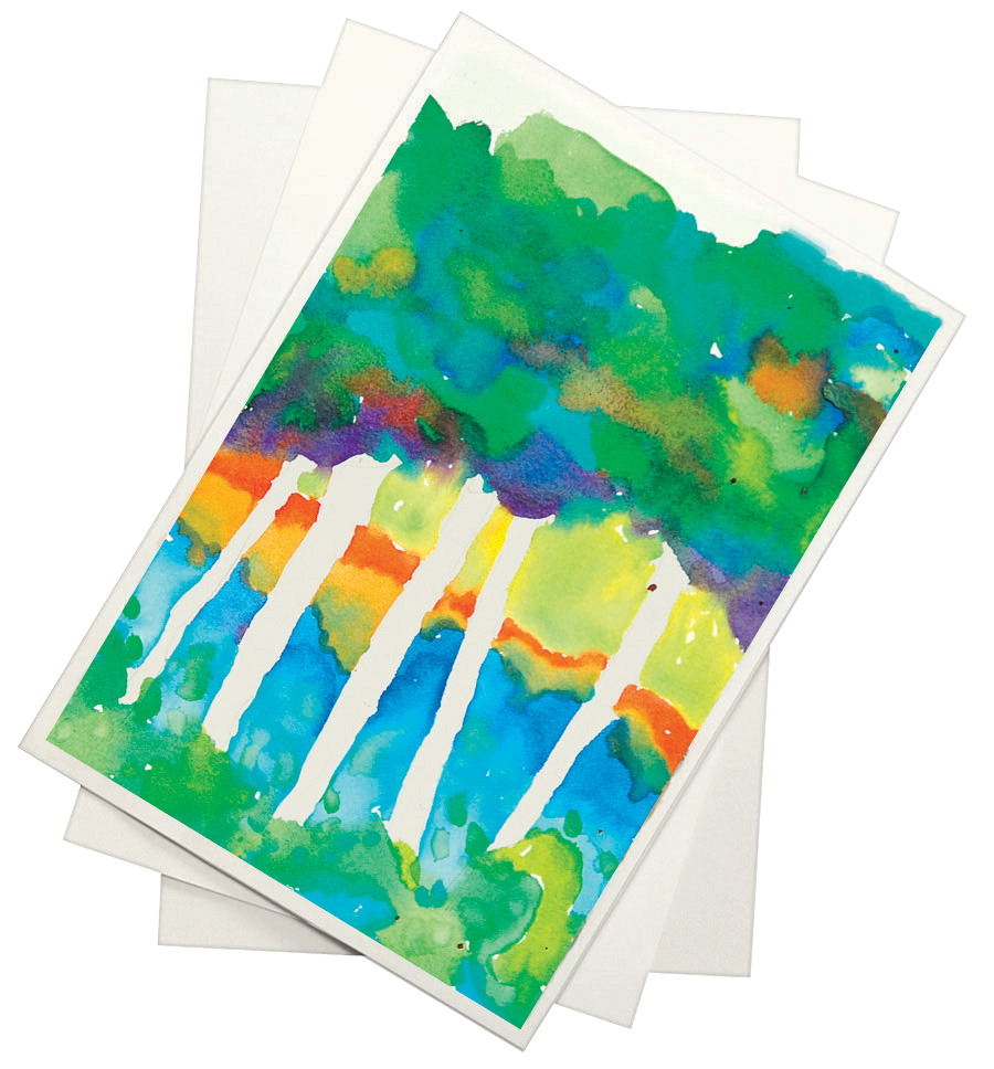Sax Halifax Cold Press Watercolor Paper, 11 x 15 Inches, 90 lb, White, 100 Sheets