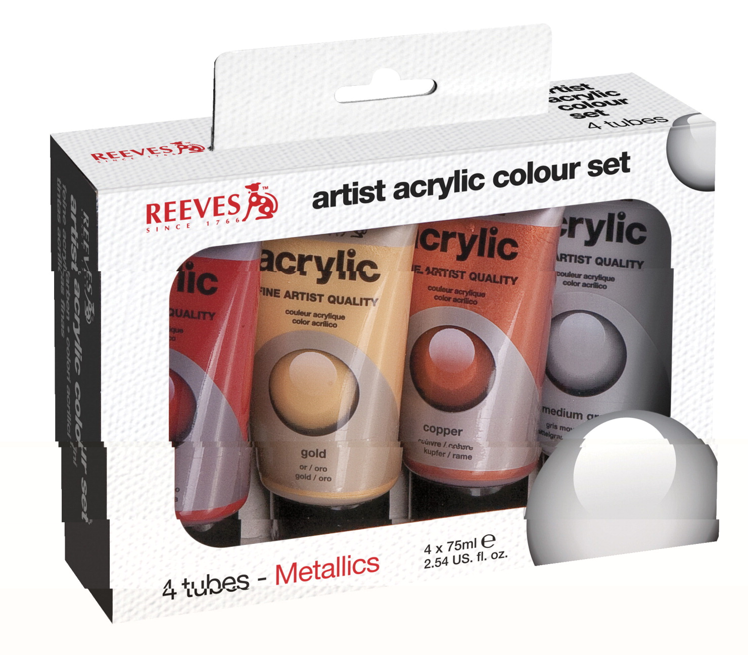 Reeves Acrylic Paint Non Toxic