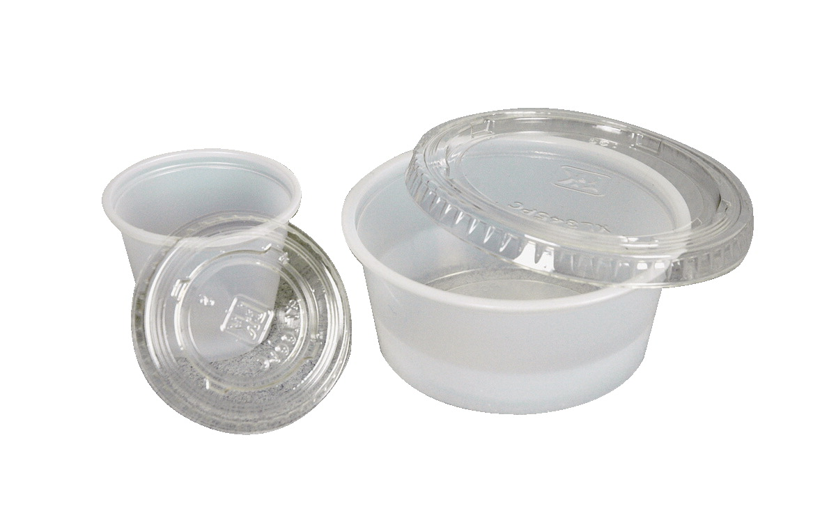 School Specialty 3.25 oz Art Utility Cup Lids, Pack of 125