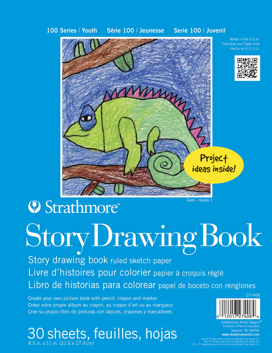 strathmore spiral binding kids story drawing book 8 12 x 11 in