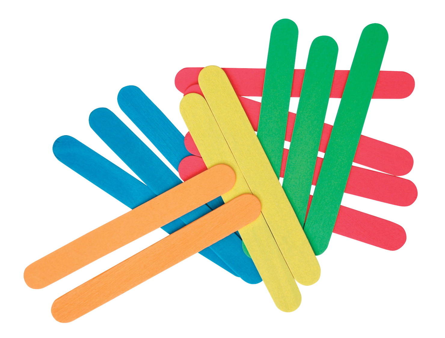 School Specialty Woodsies Jumbo Craft Stick, 6 X 3/4 X 1/16 in, Pack of 100