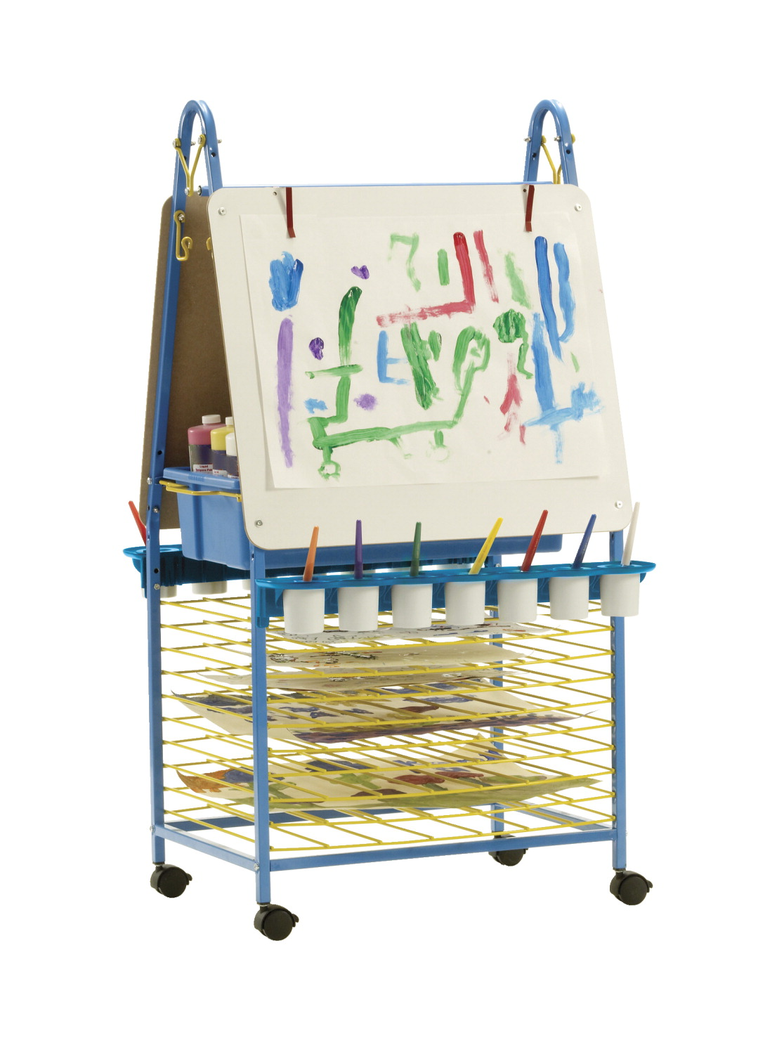 Copernicus Double-Sided Art Easel, 27-1/2 x 29-1/2 x 51 Inches