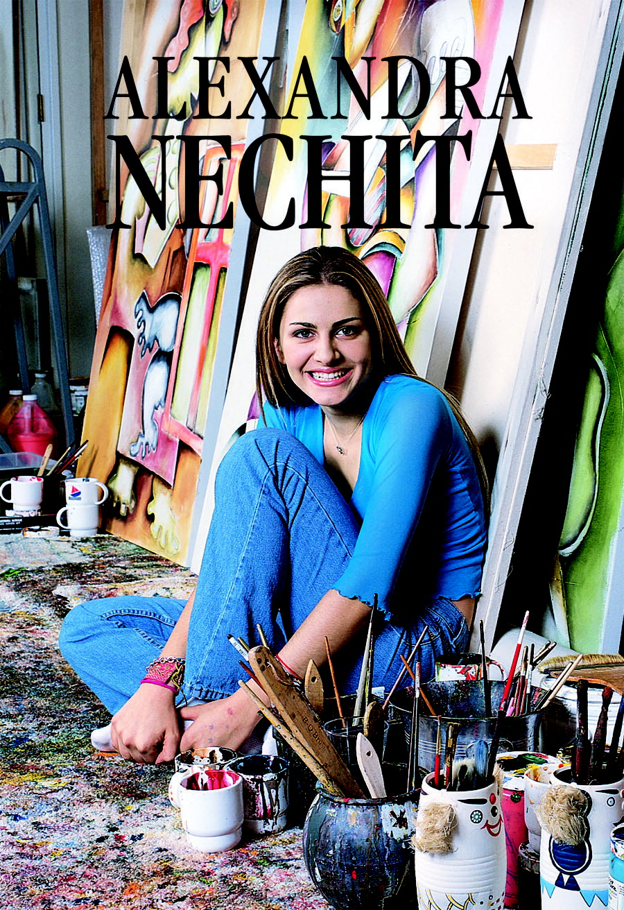 Alexandra Nechita Nude Photos 19