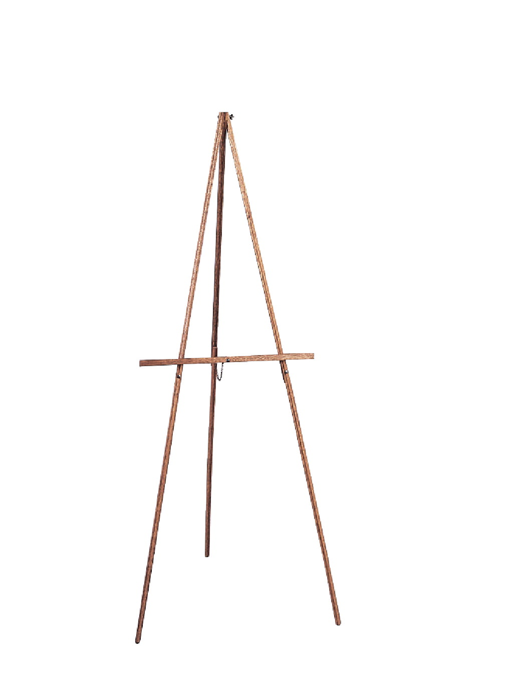 Sax Thrifty Folding Easel, 66 Inches, Hardwood