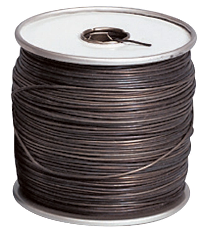 Arcor Dark Annealed Stovepipe Wire, 16 ga, 480 ft L Spool, 5 lb on