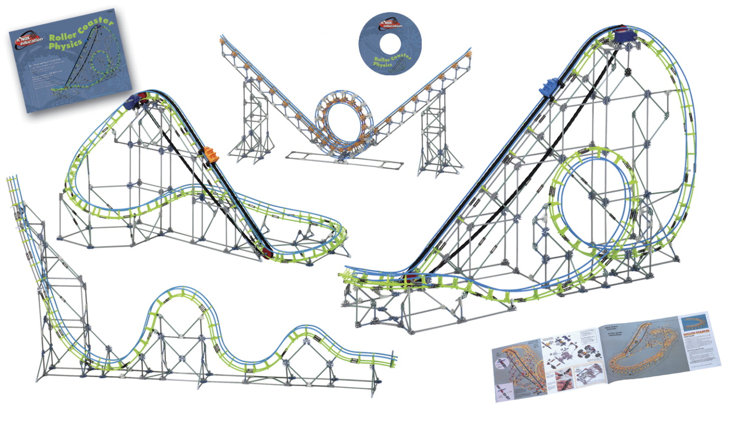 K NEX Roller Coaster Physics Construction Set - Set of 2,037