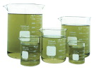 Pyrex Griffin Low Form Corning Beaker Set - Assorted Sizes - Set o 5