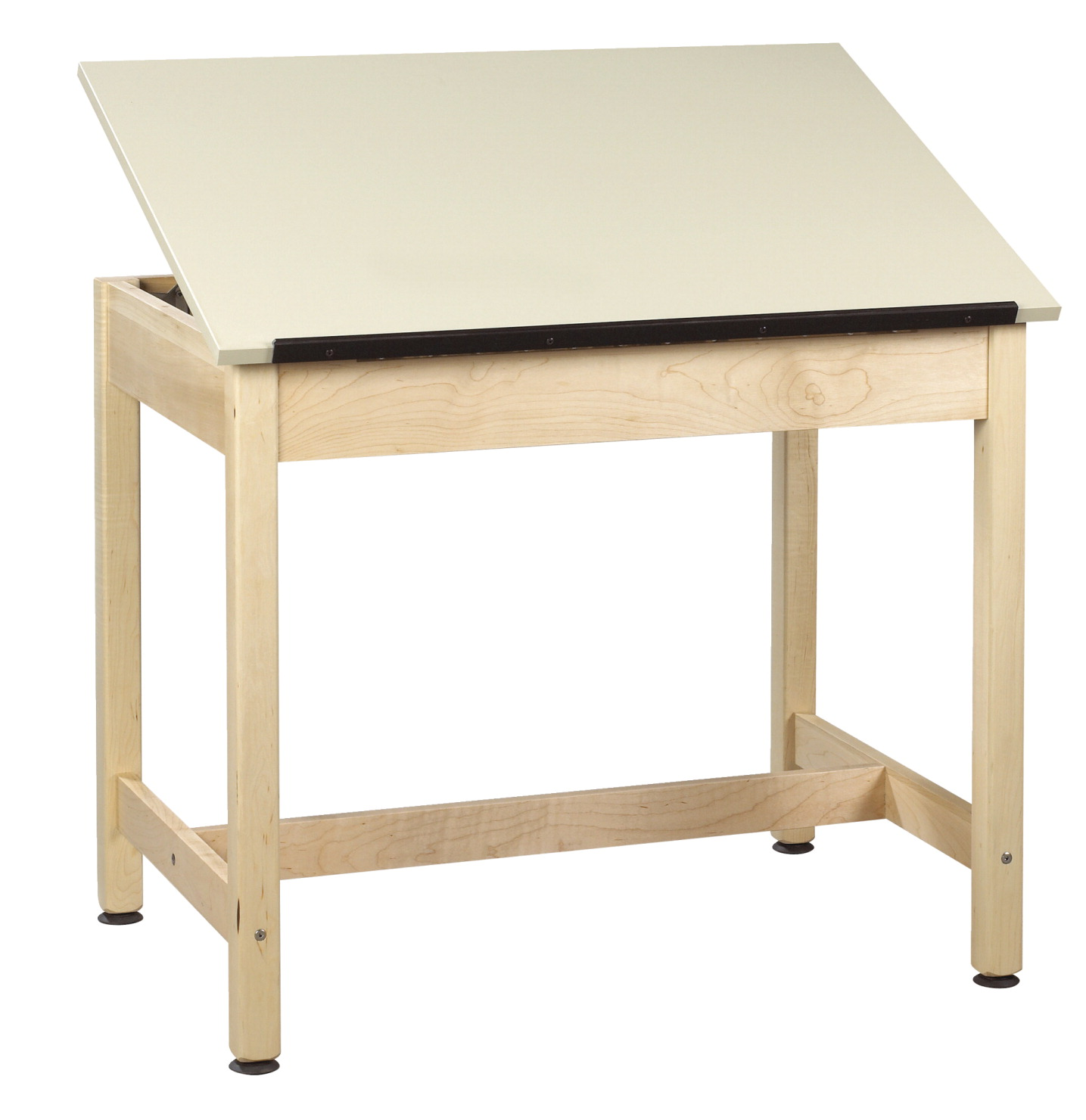 Diversified Woodcrafts Drafting Table, 36 x 24 x 30 Inches, Maple, Plastic