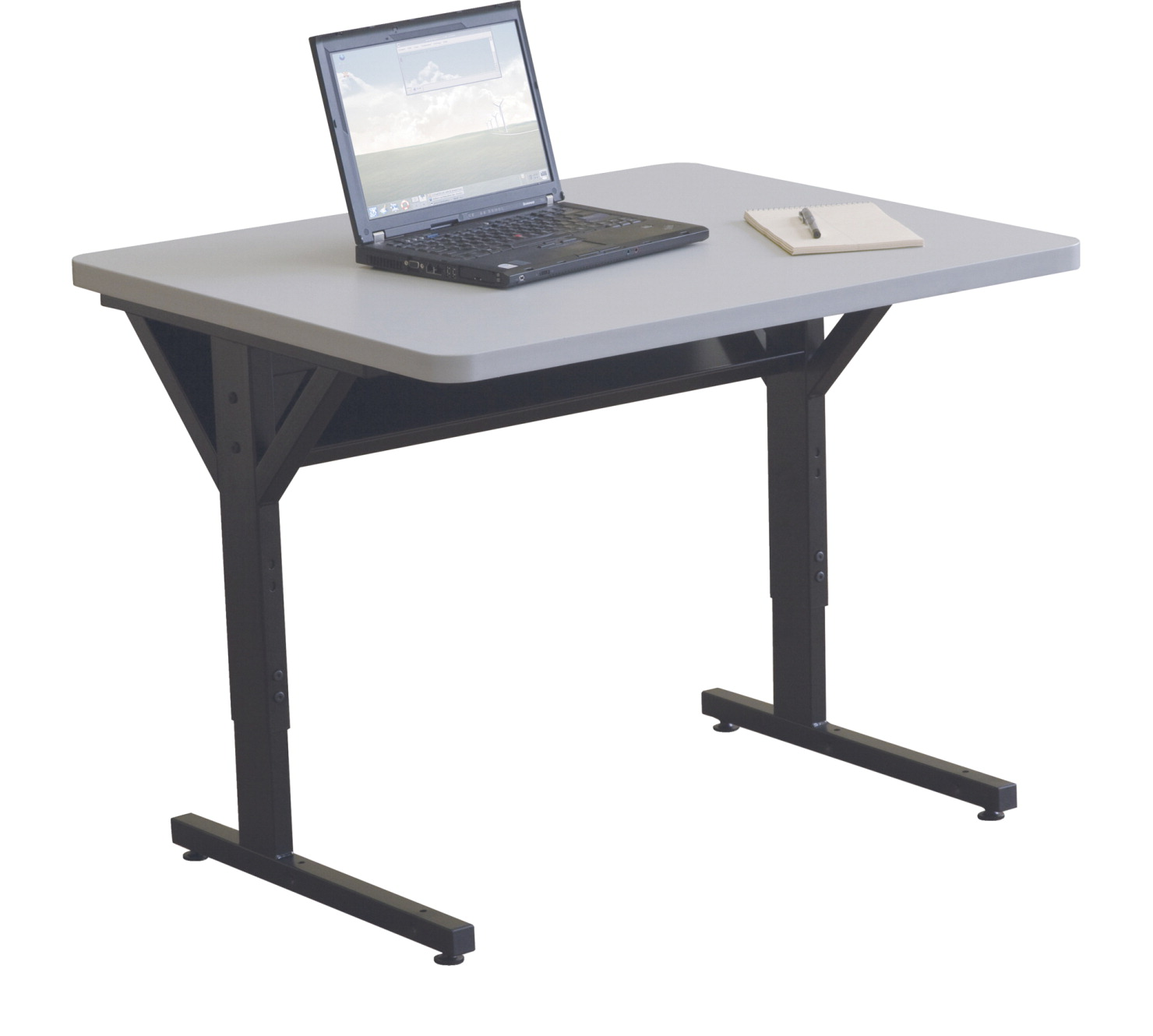 Classroom select y leg computer table 36 x 30 x 25 1 2 to for Html table options