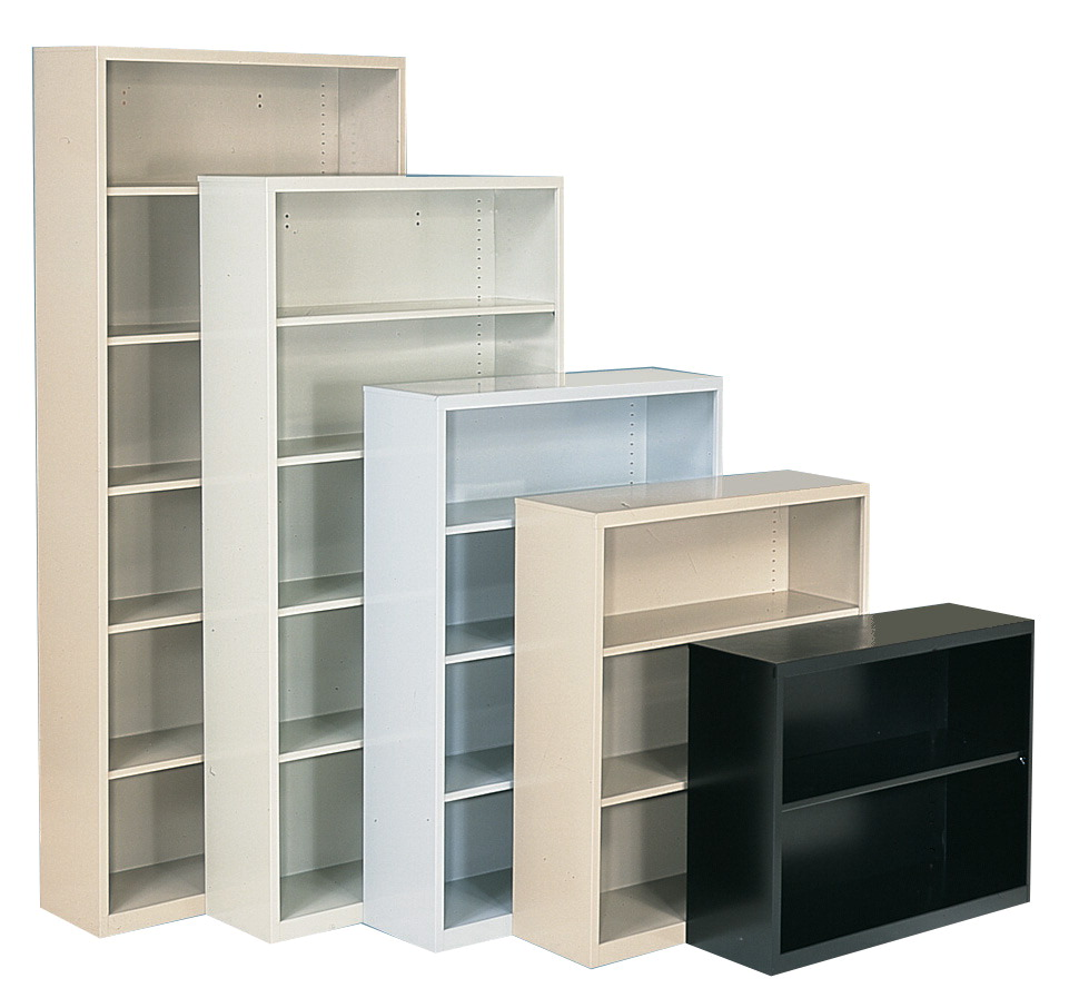 Sandusky Lee Elite 4 Shelf Welded Bookcase 36 X 18 X 52 Inches Various Options