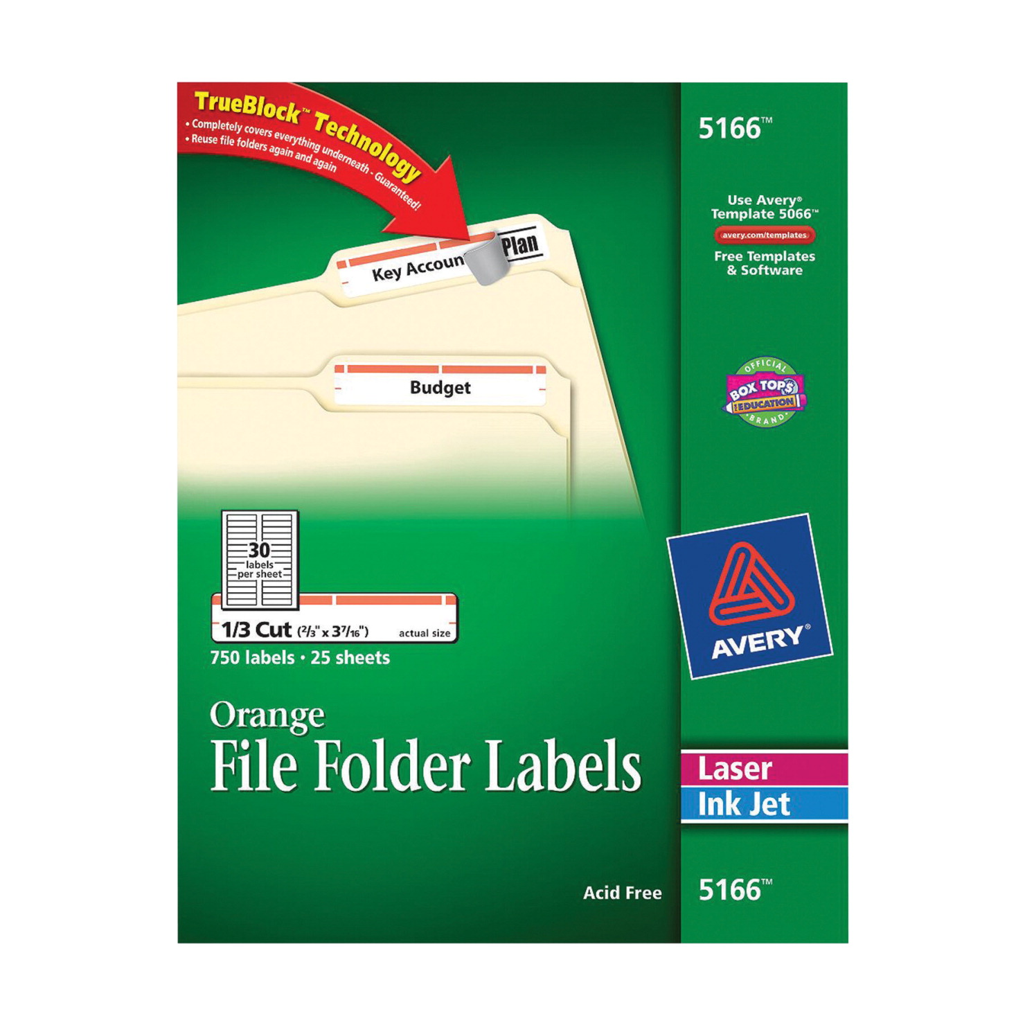 Filing label school specialty marketplace for Avery 5166 template