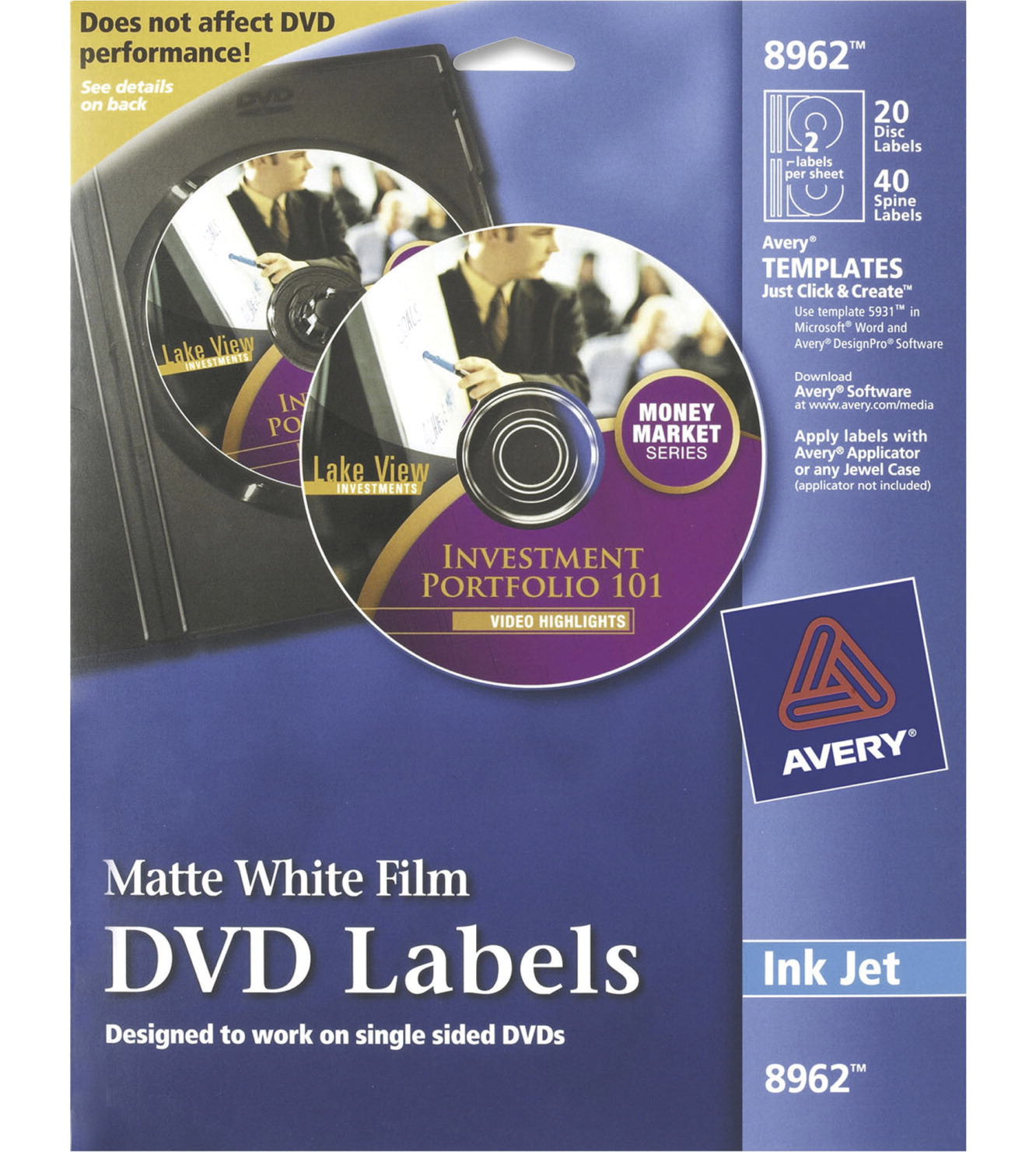 Dvd Label Soar Life Products