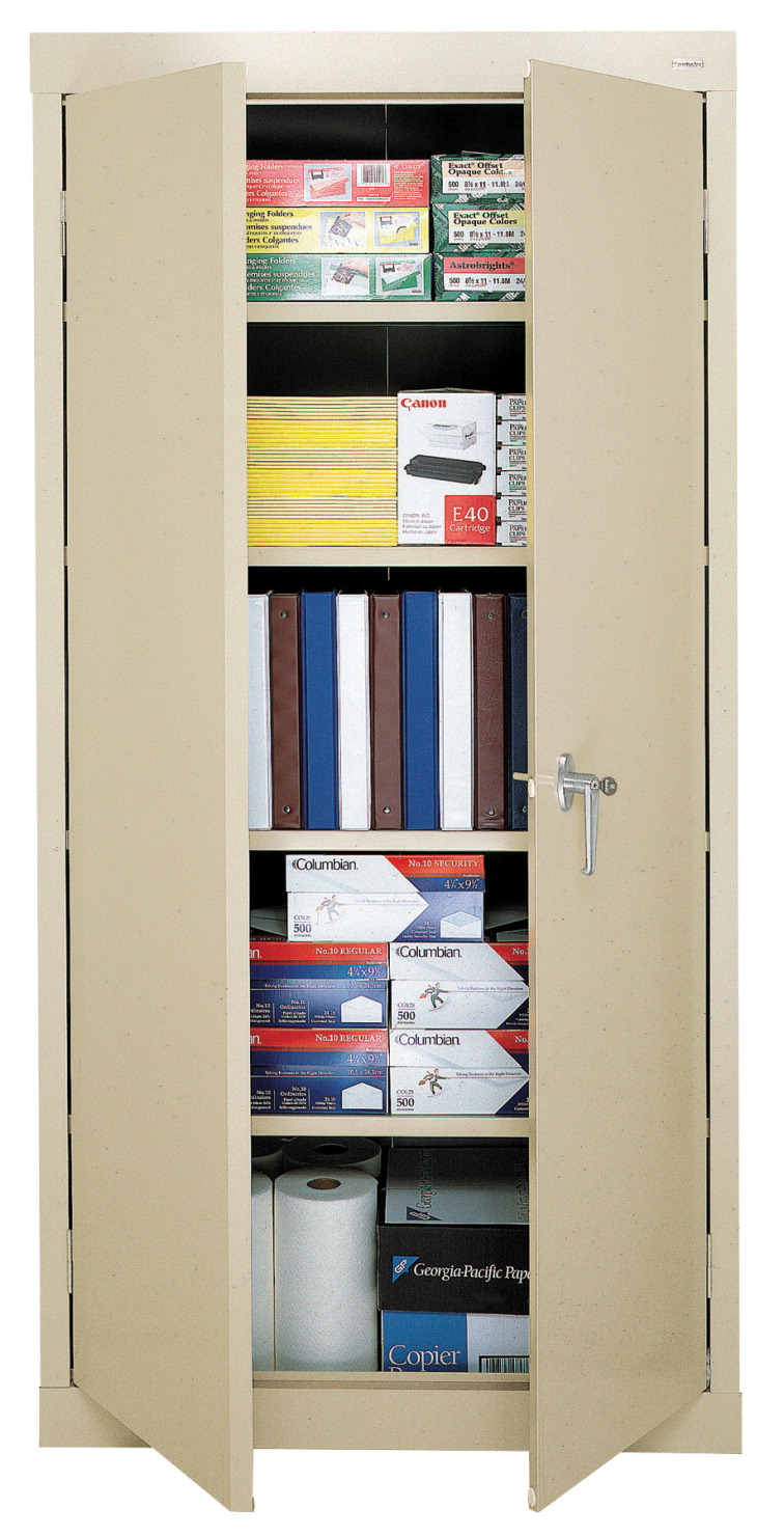 Sandusky Lee SnapIt 5 Shelf Storage Cabinet, 36 x 18 x 72 Inches, Various Options