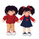 Dramatic Play Dolls, Role Play Doll Clothes, Item Number 1290673