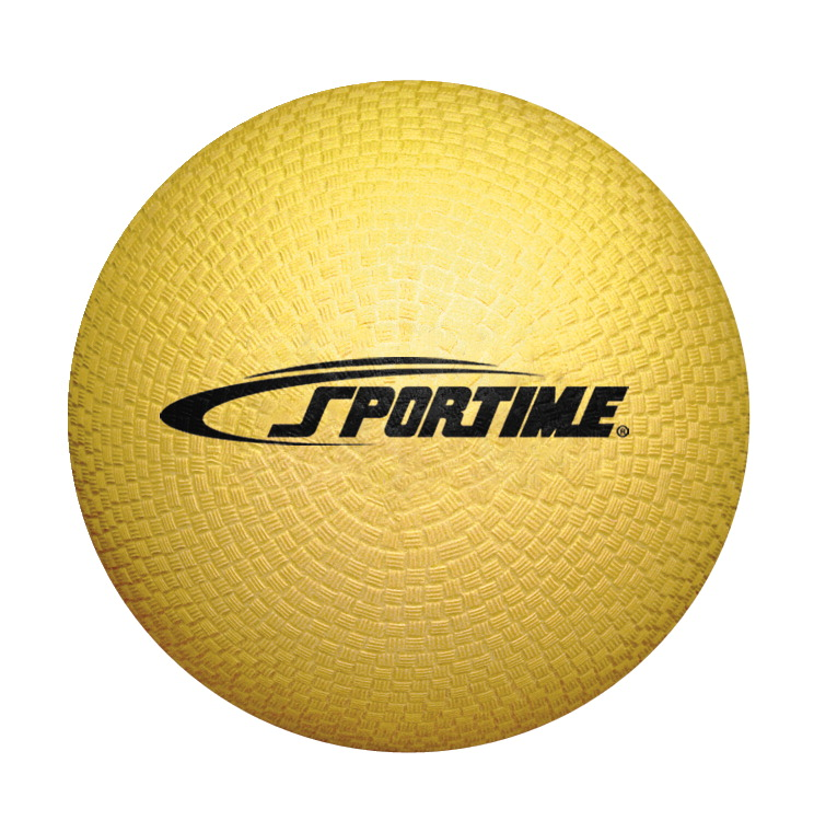 Sportime Playground Ball, 6 Inches, Yellow