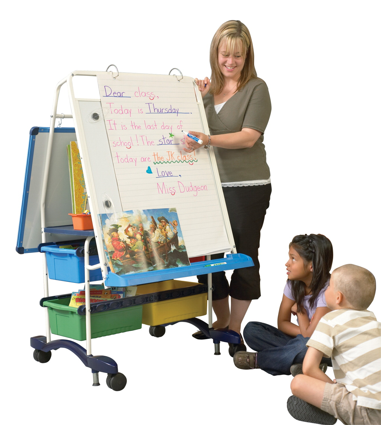 Copernicus Royal Standard Reading Writing Center, 31-1/2 x 32 x 56-1/2 Inches