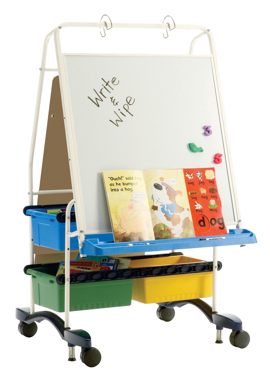 Copernicus Regal Reading and Writing Center Easel, 31-1/2 x 32 x 56-1/2 Inches
