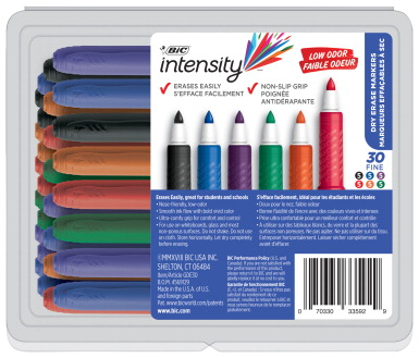 BIC Dry Erase Marker, Assorted Colors - SCHOOL SPECIALTY
