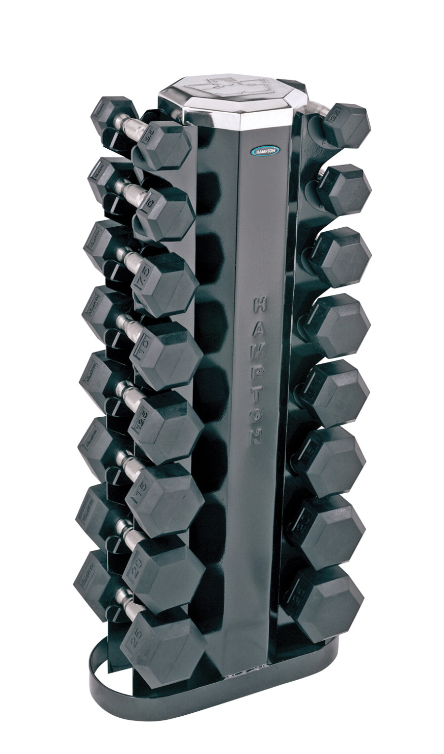Hampton Dura-Bells with Storage Rack, Set of 16