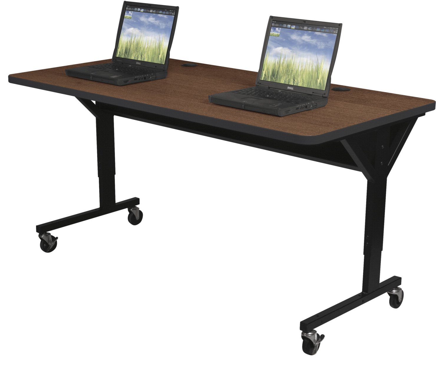 Classroom Select Y Leg Computer Table 60 X 30 X 25 1 2 To 33 1 2 Inches Various Options