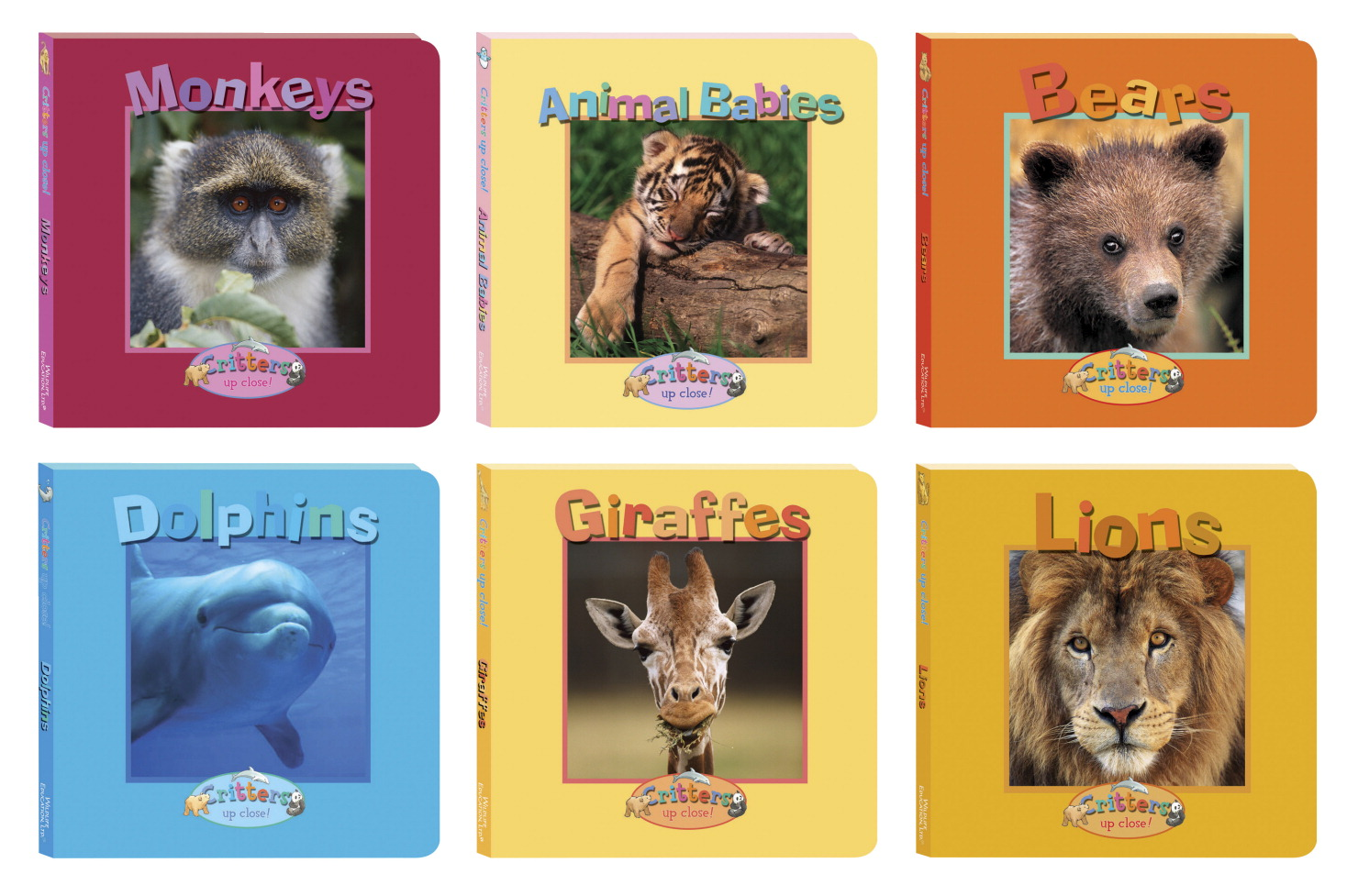 School Specialty Critters Up Close! Board Books